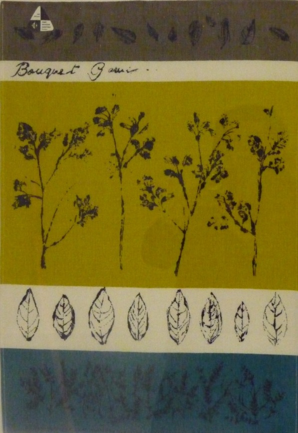 Lucienne Day teatowel, 'Bouquet Garni'