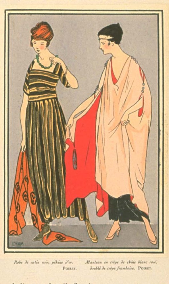 Coats and dresses by Poiret